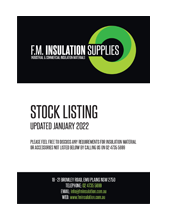 Download our stock listing